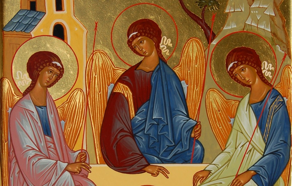 Слава Отцу и Сыну, и Святому Духу, и ныне и присно и во веки веков. Аминь